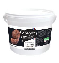 Préparation muffin chocolat...