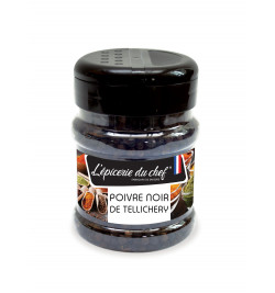 Poivre noir de Tellichery 120g