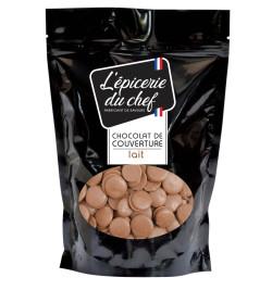 Palets de chocolat lait 1Kg EDC8656