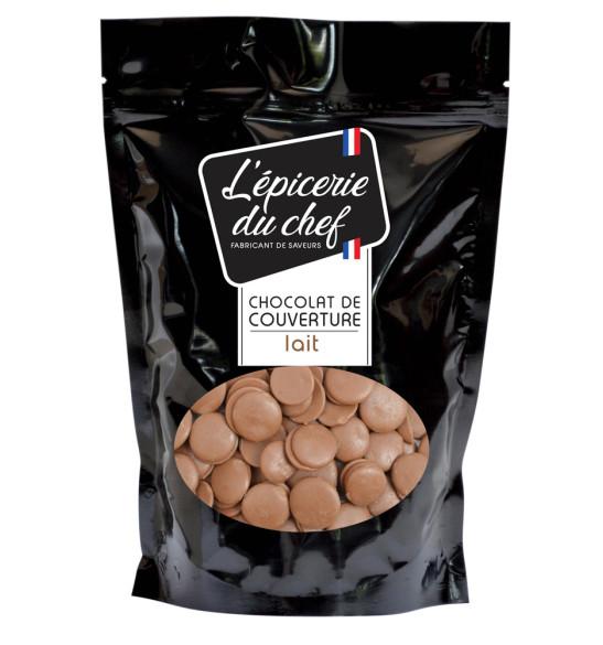 Palets de chocolat lait 1Kg