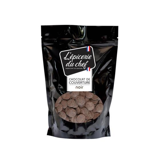 Palets de chocolat noir 200g