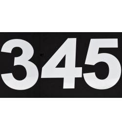 Gabarits chiffres de 3 à 5