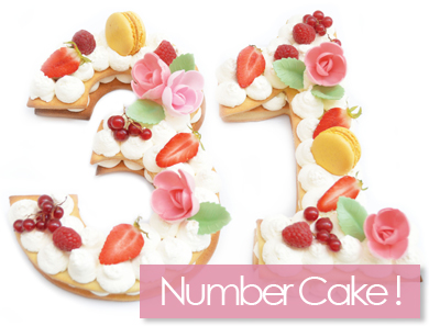 Number Cake !