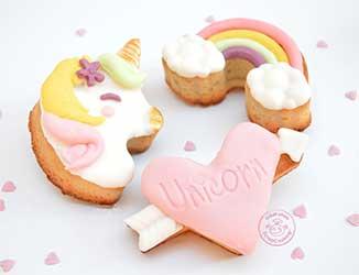 Pâtes à sucre & pâtes d'amandes pour le cake design et la décoration de vos gâteaux