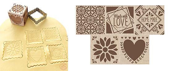 Design tampons bois réf.5139